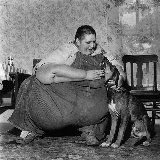 Fat Man and Dog