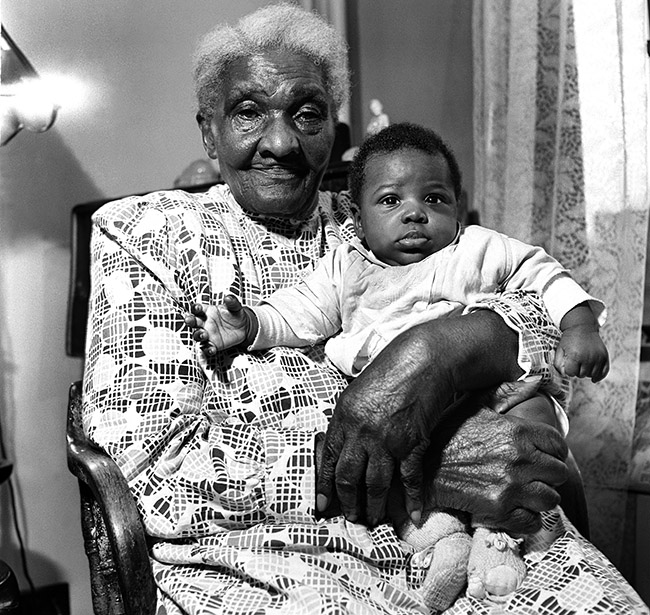 100 Year old Woman for Ebony Magazine172  Middle Frame 120